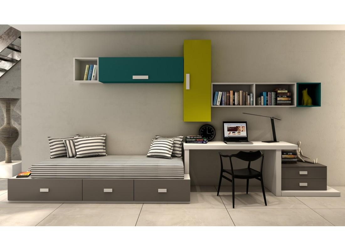 Dormitorios juveniles e infantiles muebles calidad for Muebles dormitorio infantil juvenil