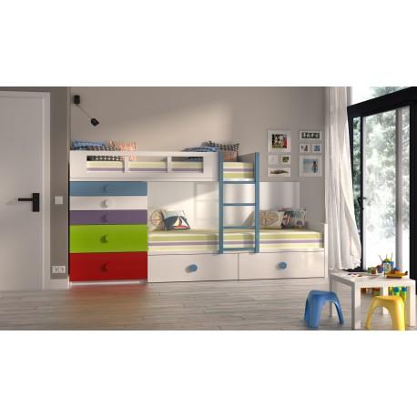 Dormitorios juveniles e infantiles muebles calidad for Habitaciones baratas