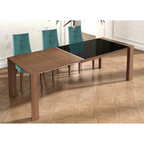 Mesa de comedor extensible con dos medida diferentes muy - Medidas de mesa de comedor ...