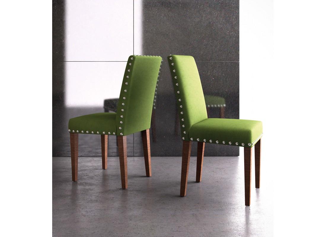 Silla de comedor silla cuarto de estar silla de madera for Tapices para sillas modernas
