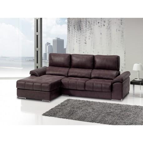 sofa en varias medidas con chaise longue y rinconera