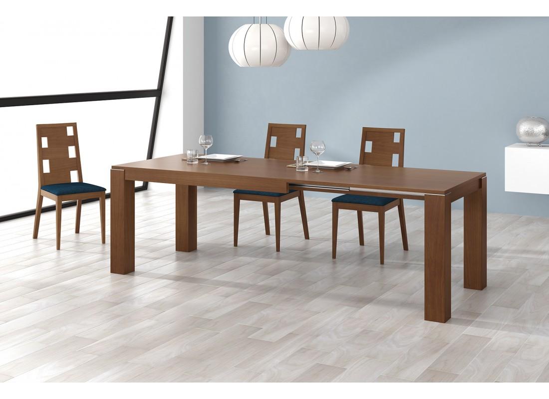 Mesa de comedor extensible con seis medida diferentes - Mesas grandes de comedor ...