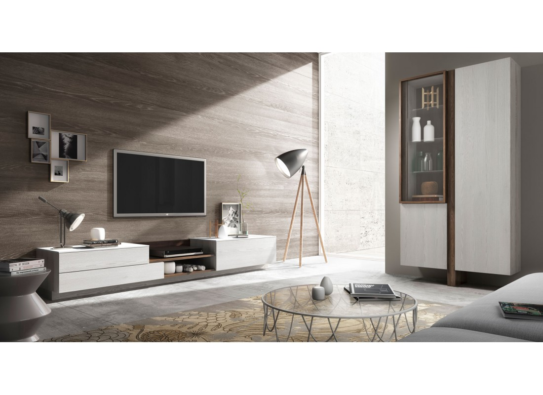 Dise os de muebles de sal n salones modernos composiciones - Disenos de muebles de salon ...