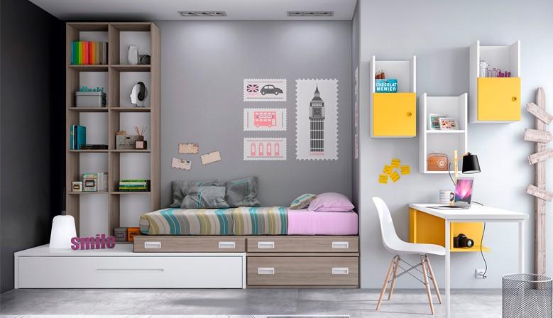 Tienda de muebles sof s salones dormitorios 40 a os de - Disenar habitacion juvenil ...