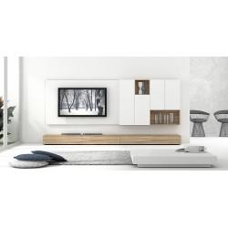 Composición de Muebles de Salón Next Rafel 4