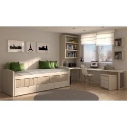 Dormitorio juvenil - infantil compactos 7