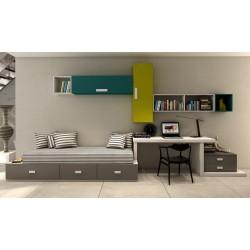 Dormitorio Juvenil-infantil nido 5