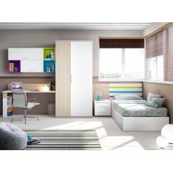 Dormitorio juvenil cama12