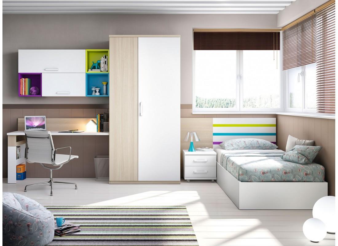 Dormitorios juveniles e infantiles muebles calidad - El mueble habitaciones juveniles ...