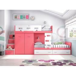 Dormitorio juvenil literas 13