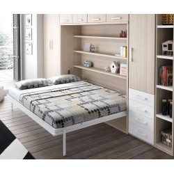 Cama abatible horizontal 12